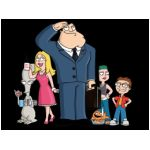 american dad serie televisiva cartoni animati seth macfarlane fox virginia langley falls 11 settembre mike barker matt weitzman atlantic creative fuzzy door productions 20th century stan smith cia francine hayley steve nerd roger alieno area 51 klaus ddr famiglia americana fantasy
