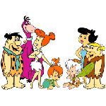 flintstones barney rubble betty pebbies fred bamm bamm dino wilma bedrock varie